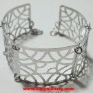 14k White Gold Layer on 925 Silver Bracelet 3RoyalDazzy.com Handmade Exclusive7