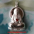 Beautiful Eternal Peace Buddha With Jewel .999 Solid Silver Hollow Pendant