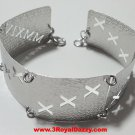 14k White Gold Layer on 925 Silver Bracelet- 3RoyalDazzy.com Handmade Exclusive8