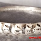 Handmade Glamorous Finely Detailed 999 Solid Fine Silver Adjustable Bangle