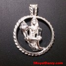 Astrology Zodiac Virgo Horoscope Birthday Anti Tarnish .925 Silver Charm Pendant