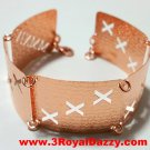 14k Rose Gold Layer on 925 Bracelet - 3RoyalDazzy.com Handmade Exclusive 11