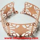 14k Rose Gold Layer on 925 Silver Bracelet- 3RoyalDazzy.com Handmade Exclusive12