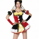New Halloween Sexy Adult Halloween Smiffy's Women's Queen of Hearts Costume -S