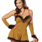 New Halloween Cowardly Lion Lioness Wizard of Oz Sexy Adult Costume Size- Large
