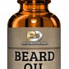 Beard Oil All Natural Fragrance Free Moisturizing Conditioner Argan Oil 30ml