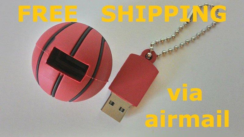 16gb usb flash drive memory stick basketball
