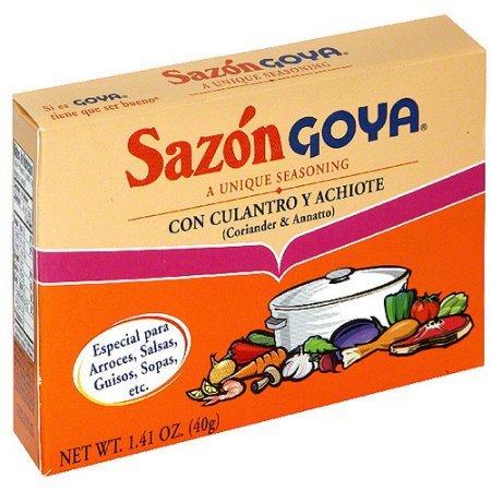Sazon Goya Seasoning 8 Pack