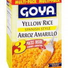 Goya Arroz Amarillo Spanish Style Yellow Rice 3 pack
