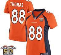 Denver Broncos Women Demaryius Thomas Jersery