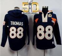 Denver Broncos Demaryius Thomas Hoodie Jersery