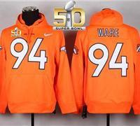 Denver Broncos DeMarcus Ware #94 Hoodie Jersey