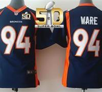 Denver Broncos Youth DeMarcus Ware #94 Jersey