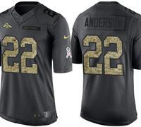 Denver Broncos C.J. Anderson #22 Jersey