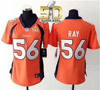 Denver Broncos Women Shane Ray #56 Jersey