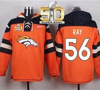 Denver Broncos Shane Ray #56 Hoodie Jersey