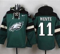Philadelphia Eagles #11 Carson Wentz Hoodie Jersey