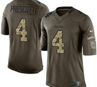 Dallas Cowboys Dak Prescott #4 Jersey