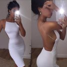 Kim Kardashian white sexy dress M size