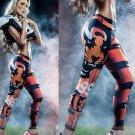 Free Shipping Woman Yoga Pants Fitness Sport 3D Leggings Cincinnati Bengals Sports Tights Fiber