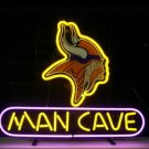 "Brand New Nfl Minnesota Vikings Man Cave Beer Bar Pub Neon Light Sign 13""x 8"" [High Quality]"