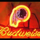 "Brand New NFL Washington Redskins Budweiser Beer Bar Pub Neon Light Sign 13""x 8"" [High Quality]"