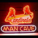"Brand New MLB St. Louis Cardinals Man Cave Beer Bar Pub Neon Light Sign 13""x 8"" [High Quality]"
