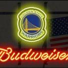 """Brand New NBA Golden State Warriors Budweiser Beer Bar Pub Neon Light Sign 13""""x 8"""" [High Quality]"""