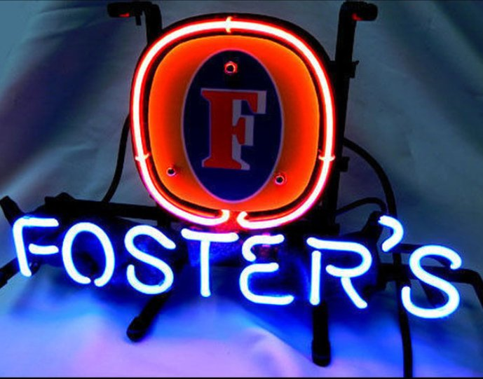 "Brand New Fosters Beer Bar Pub Neon Light Sign 13""x 8"" [High Quality]"