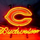 "Brand New NFL Chicago Bears Budweiser Beer Bar Pub Neon Light Sign 13""x 8"" [High Quality]"
