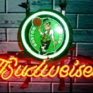 "Brand New NBA Boston Celtics Budweiser Beer Bar Pub Neon Light Sign 13""x 8"" [High Quality]"