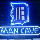 "Brand New MLB Detroit Tigers Man Cave Beer Bar Pub Neon Light Sign 13""x 8"" [High Quality]"