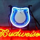 "Brand New NFL Indianapolis Colts Budweiser Beer Bar Pub Neon Light Sign 13""x 8"" [High Quality]"