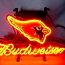 "Brand New NFL Arizona Cardinals Budweiser Beer Bar Pub Neon Light Sign 13""x 8"" [High Quality]"