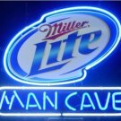 "Brand New Man Cave Miller Lite Beer Bar Pub Neon Light Sign 13""x 8"" [High Quality]"