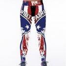 Free Shipping Woman Yoga Pants Tights Fiber Sport Leggings New England Patriots Leggings