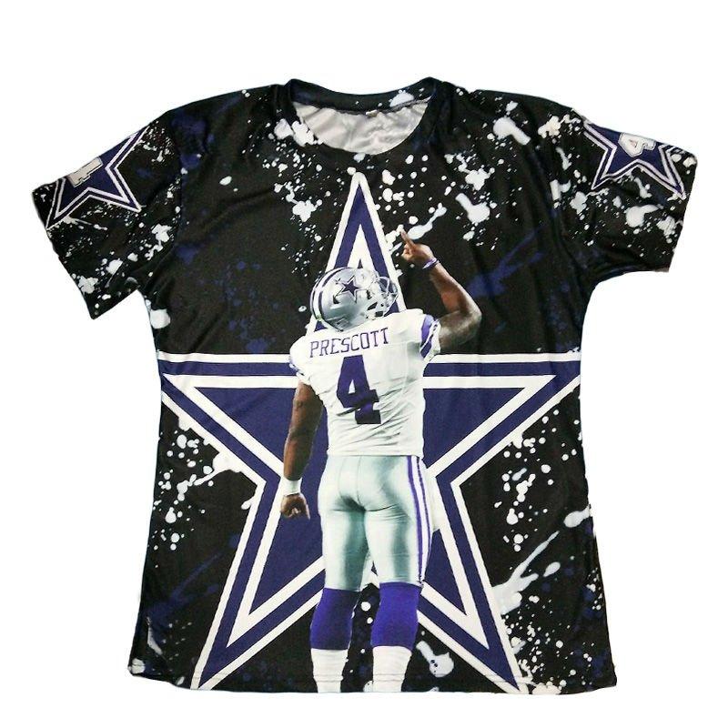 T-shirts No.88 Rookie Quarteback Dak Prescott Graphic