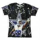T-shirts No.88 Rookie Quarteback Dak Prescott Graphic Summer 3D Printed For Dallas Fans style 3