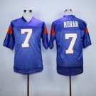 Alex Moran 7 Mountain State TV Show Football Jersey-Blue style