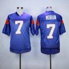 Alex Moran 7 Mountain State TV Show Football Jersey-Blue style