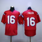 Keanu Reeves Shane Falco 16 Sentinels Airbrush Portrait Football Jersey-Red style