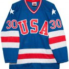1980 JIM CRAIG Olympic USA MIRACLE Hockey K1 Jersey New Blue Any Size RARE