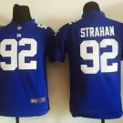 Michael Strahan 92 New York Giants TV Show American Football Jersey-Blue style