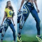 Free Shipping Woman Yoga Pants Sport Leggings Baltimore Ravens Tights Fiber Sport