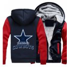 Men Jacket 2017 Dallas Cowboys NFL Luxury Blue Red Style ver1