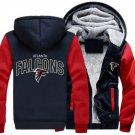 Men Jacket 2017 Atlanta Falcons NFL Luxury Blue Red Style ver1
