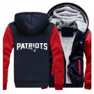 Men Jacket 2017  New England Patriots NFL Luxury Blue Red Style ver1