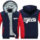 Men Jacket 2017  Funny Star Wars Jedi Luxury Blue Red Style ver1