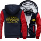 Men Jacket 2017  Star Wars Fun Luxury Blue Red Style ver1