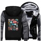 Men Jacket NEW 2017 Rick and Morty Adult Swim Animated Series Fan Luxury Grey Black Style ver1